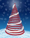 3d christmas tree Royalty Free Stock Photography