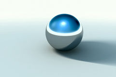 Chrome ball  Stock Images