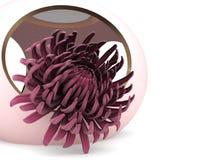 3d chrysant Royalty-vrije Illustratie