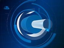 3D cilindros futuristas V2 Fotos de Stock