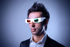3d cinema Stock Image