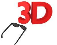 3D cinema Stock Image