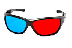 3d cinema glasses Stock Image
