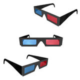 3d cinema glasses / 3d Brille Royalty Free Stock Photography