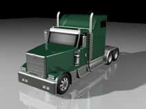3d Classic Truck Royalty Free Stock Photography