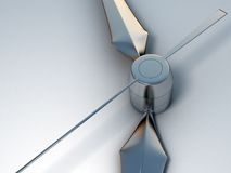 3D Clock Stock Image