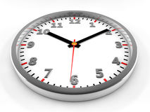 3d clock Royalty Free Stock Photos