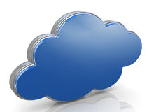3d cloud computing concept Royalty Free Stock Images