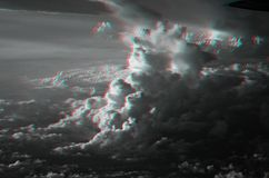 3D Clouds Stock Images