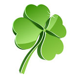 3D clover Stock Image