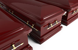 3d coffin Stock Photos