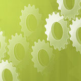 3d cog background2 Royalty Free Stock Photography