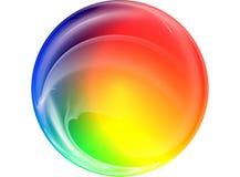 3D coloré a rendu la fractale Images libres de droits