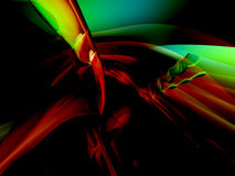 3D Color Abstract Background Royalty Free Stock Photography