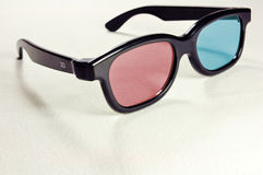 3D color glasses Royalty Free Stock Photography