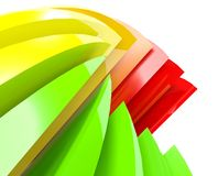3d colored background Royalty Free Stock Image