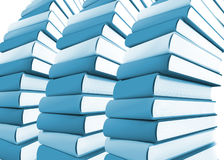3d colored books massive for design Royalty Free Stock Photography