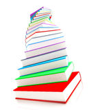 3d colored books massive for design. 3d colored books massive for great design Royalty Free Stock Photos