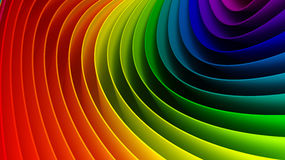 3d colorful background Stock Photos