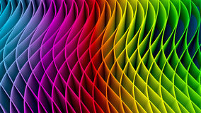 3D Colorful Fractal Background Stock Photo