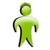 3d coloured ikona odizolowywających ludzi osoby ustalonego whi Zdjęcie Royalty Free