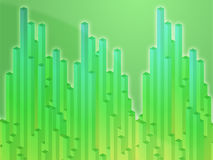 3d columns illustration Royalty Free Stock Images