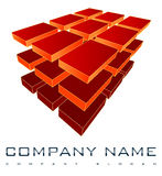 3D Company Logo Stock Images