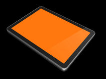 3D computer, digital Tablet pc Royalty Free Stock Photos