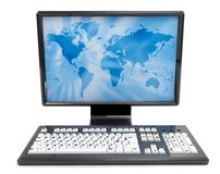 3D computer isolated Stock Photography