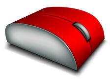 3d computer mouse Stock Images