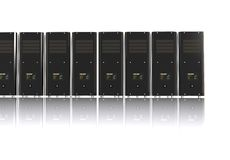 3d computer servers Royalty Free Stock Photography