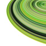 3d concentric pipes in multiple green. 3d render concentric pipes in multiple green colors Stock Photos