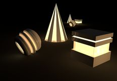 3d Concept royalty free stock images