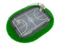 3D Concept Basketball Stock Photo