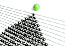 3d concept of level of success and management Royalty Free Stock Photography