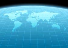 3d continenten Stock Afbeelding