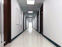 3d corridor Stock Photos