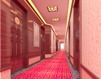 3d corridor Royalty Free Stock Image