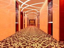3d corridor Royalty Free Stock Images