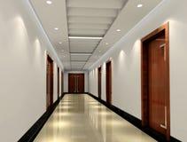 3d corridor Stock Images