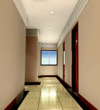 3d corridor Royalty Free Stock Photos