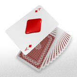 3d create playing card art Stock Images