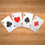 3d create playing card art Royalty Free Stock Photo