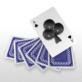 3d create playing card art Stock Image
