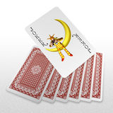 3d create playing card art Royalty Free Stock Photos