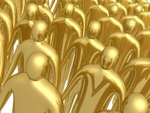3d crowd Royalty Free Stock Photography