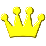 3D Crown Stock Photos