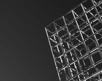 3D cuba o fundo Imagens de Stock