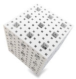 3d cube abstract Royalty Free Stock Images