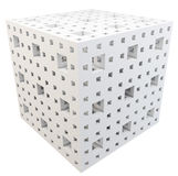 3d cube abstract Stock Photo